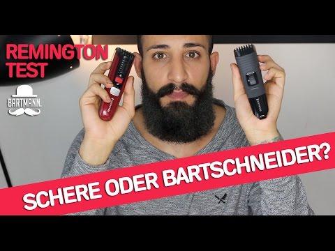 Schere oder Bartschneider? REMINGTON TEST | BARTMANN