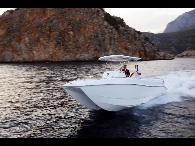 Hysucat 25 Center Console Sport Fisher Boat – Short review