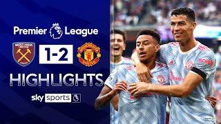 Lingard & Ronaldo hurt Hammers in DRAMATIC late win! 🤯 | West Ham 1-2 Man Utd | EPL Highlights