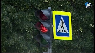 Ситуация со светофорами в Великом Новгороде улучшится не раньше следующей недели