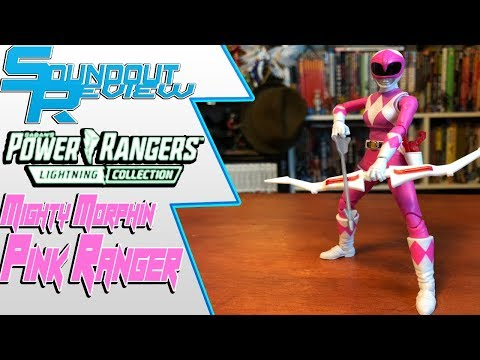 Power Rangers Lightning Collection: Mighty Morphin Pink Ranger Review [Soundout12]
