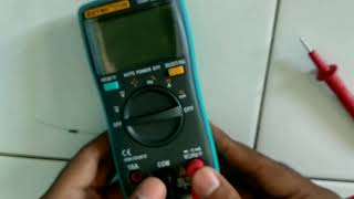 M. Roni Setiawan - How to Check Resistor by Digital Multimeter
