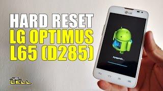 Hard Reset no LG Optimus L65 (D285)