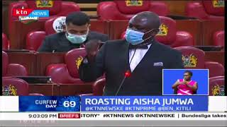 Roasting Aisha Jumwa: Process to remove Jumwa from PSC ongoing as MP accused of supporting DP Ruto