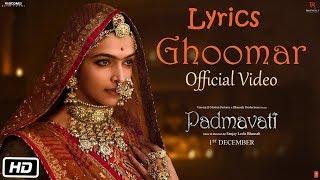 Ghoomar Lyrics | Deepika Padukone | Shahid   - YouTube