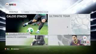 preview picture of video 'Gameplay FIFA 14 Demo del 10 Settembre - Milan vs Manchester City'