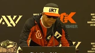 STRONG WORDS FROM VIRGIL HUNTER TO KOVALEV