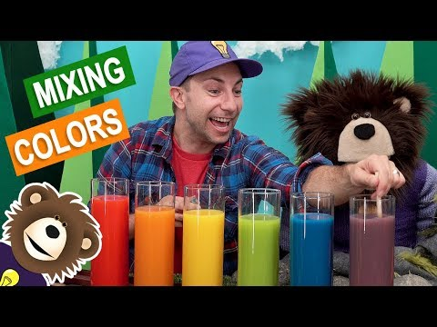 Mixing Colors | Science Experiments for Kids