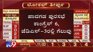 Pavagada Town Municipal Council Result: Cong-6 & JDS Wins In 3 Wards