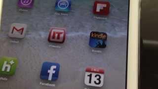 iPadminiでkindleアプリを使って電子書籍を読む