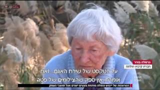 כתבה בחדשות ערוץ הראשון על ייבוש החולה(1 סרטונים)