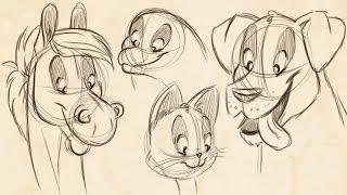 How To Draw Cartoon Animals! (feat. Jullelin Art)