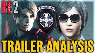 Resident Evil 2 Remake - Everything You missed In The NEW Trailer