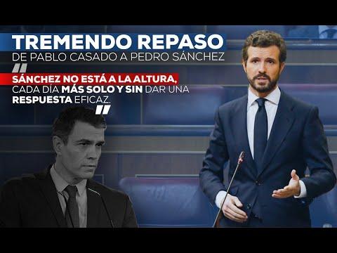 Réplica de Pablo Casado en el Pleno del Congreso de los Diputados.