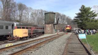 preview picture of video 'Whippany Railway Museum Easter Bunny Trains 2014'