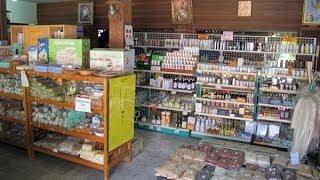 Organic health food store in Chiang Mai