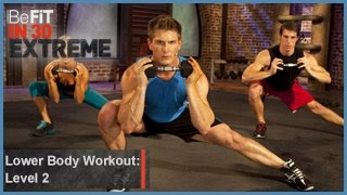 Lower Body Workout | Level 2- BeFit in 30 Extreme by BeFiT
