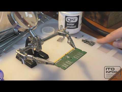 Пробуем ремонтировать оперативную память.