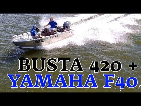 Quintrex Busta 420 + Yamaha F40hp boat review   Brisbane Yamaha