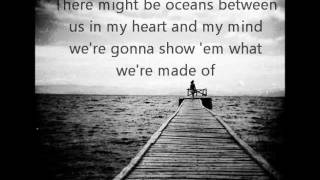 Oceans Between Us The Downtown Fiction Lyrics(: