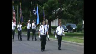 preview picture of video 'American Legion Parade in Penn Yan NY'