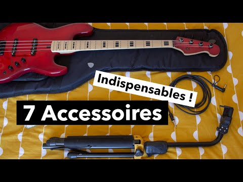 Je Débute la Basse 🎸 Les 7 Accessoires Indispensables