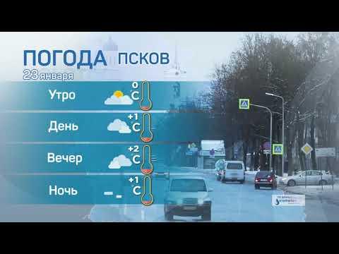 Прогноз погоды / 23.01.2021