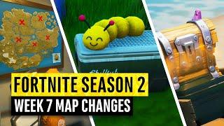 Fortnite | All Season 2 Map Updates and Hidden Secrets! WEEK 7 (chapter 2)