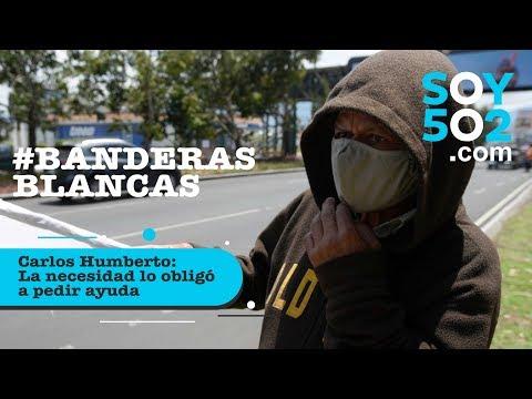 Carlos Humberto, la necesidad lo obligó a pedir ayuda