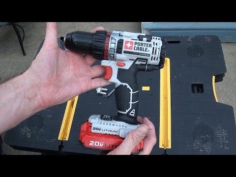 Porter Cable 20 volt cordless drill review – Model PCCK600LB
