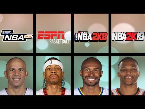 Fastest Basketball Players Ever In NBA 2K Games (NBA 2K1 - NBA 2K19)
