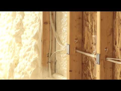 Icynene® - NOT TRADITIONAL INSULATION