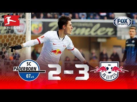 CHUVA DE GOLS! Melhores momentos de Paderborn 2 x 3 Leipzig pela Bundesliga