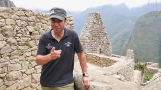 Tonight Gerrie Pretorius is trekking to an ancient Inca citadel perched high