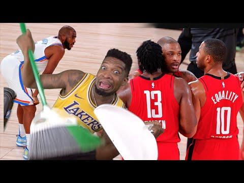 CHRIS PAUL GRAB A BROOM!! Oklahoma City Thunder vs Houston Rockets – Full Game 2 Highlights