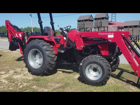 2019 Mahindra 4540 4WD in Saucier, Mississippi - Video 1