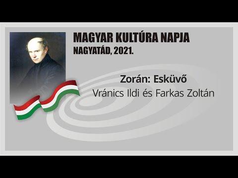 Magyar Kultúra Napja Nagyatádon 2021.: Zorán: Esküvő - Vránics Ildikó és Farkas Zoltán