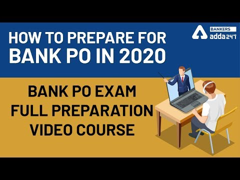 Bank PO Exam Full Preparation Video Course   How to Prepare for ...