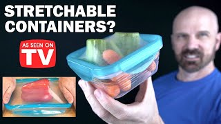 Stretch and Fresh Review: Stretchable Containers?