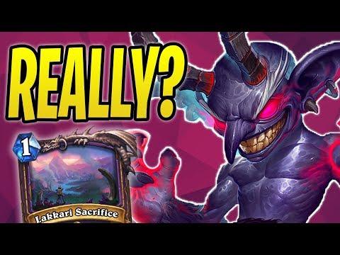 WINNING with Quest Warlock?! | Lakkari Sacrifice | The Boomsday Project | Hearthstone