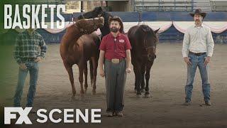 Baskets | Season 3 Ep. 1: The Horses Scene | FX