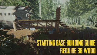 The Forest: Great Starting Base Building Guide(IMPROVED VERSION IN DESCRIPTION)