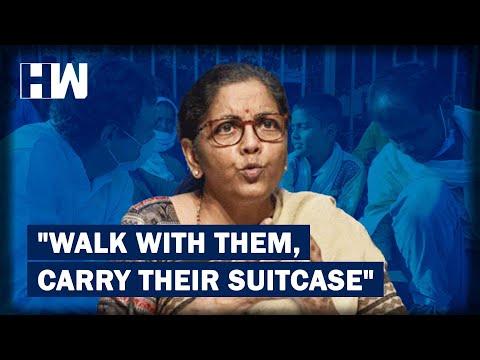 एफएम सीतारमन का उपहास करता राहुल & # 39; s बैठक के साथ प्रवासी के रूप में & quot; Dramabazi & quot;