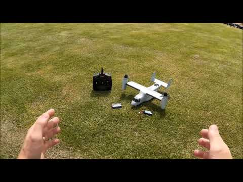 eflite-v22-osprey-vtol--maiden-flight-and-pilot-impressions