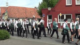 preview picture of video 'Schützenfestumzug Bremervörde'