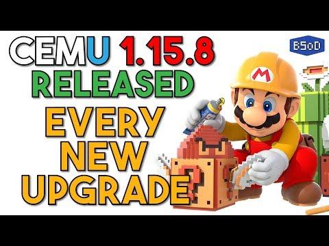 Cemu 1,15,8 Released | New Graphical Upgrades, Playable Games & UI Updates