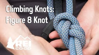 How To Tie A Figure 8 Knot For Climbing - Everything You Need To Know || REI