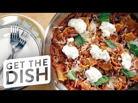 One-Pot Skillet Lasagna Recipe | Get the Dish