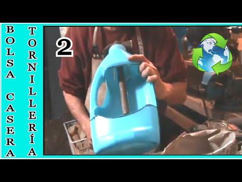 bolsa de cinturón para clavos, con una garrafa reciclada ( 2 de 2 )