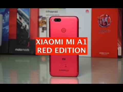 Unboxing Xiaomi Mi A1 Rosso (Red Edition) e prime impressioni